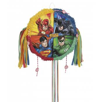 Pinata pull Justice league
