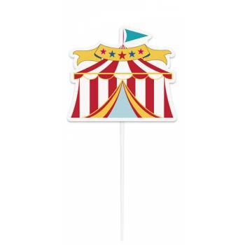 Cake topper Carnaval circus
