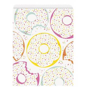 8 sachets de fête Donut party
