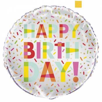 Ballon hélium Donut Party