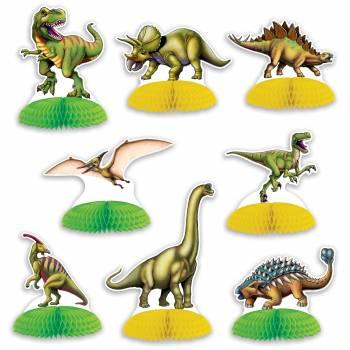 8 Décors dinosaure à poser