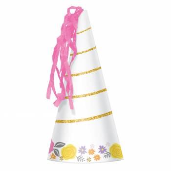 8 Chapeaux de fête Licorne magique