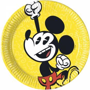 8 Assiettes dessert Mickey cool