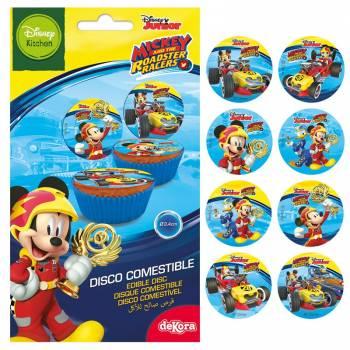 12 Mini photo comestible Mickey