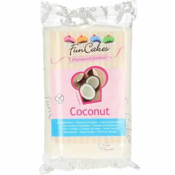 Pain de Pâte à sucre Funcakes gout Noix de coco
