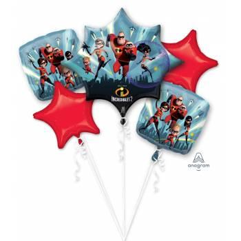 Bouquet de ballons hélium Indestrutibles