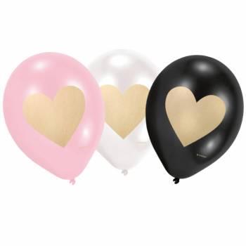6 Ballons Love Everiday