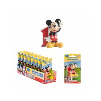 Bougie chiffre Mickey 1