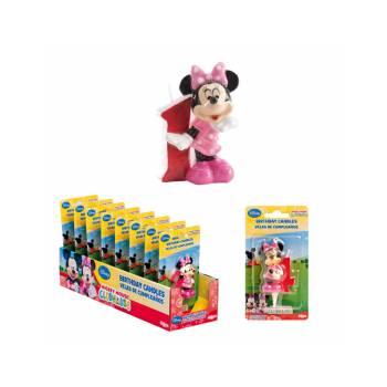 Bougie chiffre Minnie 1