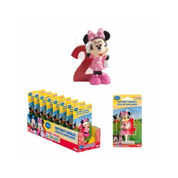 Bougie chiffre Minnie 2