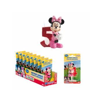 Bougie chiffre Minnie 5