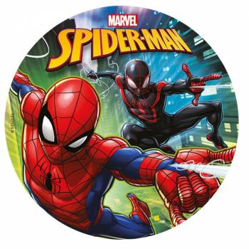 Disque sucre Spiderman 20cm