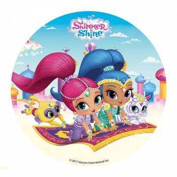 Disque azyme Shimmer and Shine 16cm