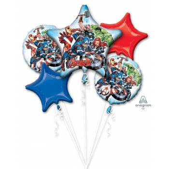 Bouquet ballons hélium Avengers