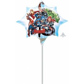 Mini ballon Avengers gonflé