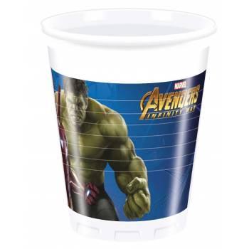 8 Gobelets Avengers infinity wars