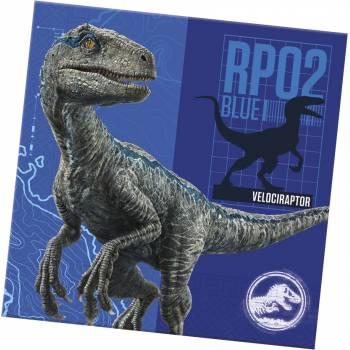 20 Serviettes Jurassic World