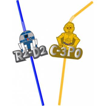 6 Pailles Star Wars geek