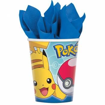 8 Gobelets Pokemon
