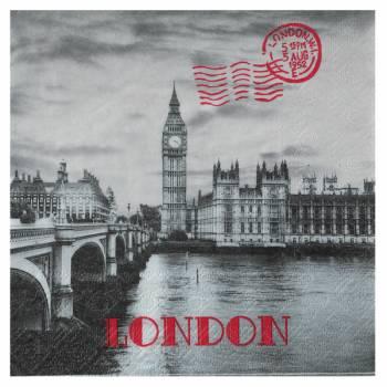 20 Serviettes Londres