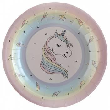 10 Assiettes Licorne