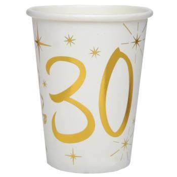 10 Gobelets âge d'or 30 ans