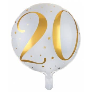 Ballons hélium âge d'or 20 ans