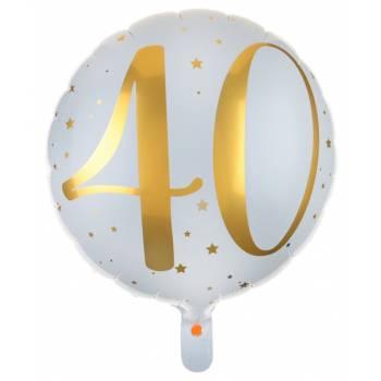 Ballons hélium âge d'or 40 ans
