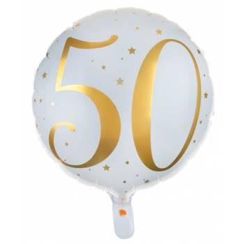 Ballons hélium âge d'or 50 ans