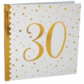 Livre d'or âge d'or 30 ans