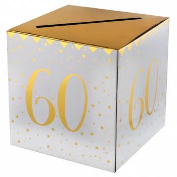 Tirelire âge d'or 60 ans