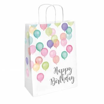 2 Sacs cadeaux Birthday Pastel