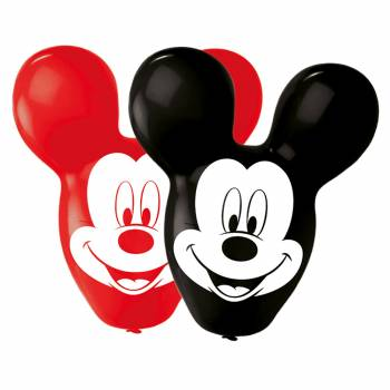 4 Ballons tête de Mickey giant