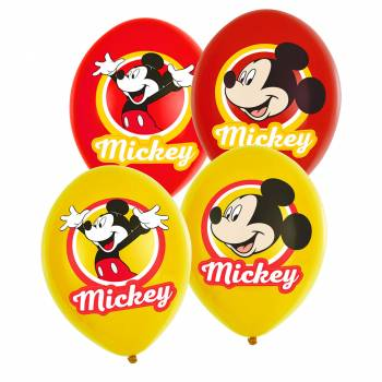 6 Ballons Mickey original