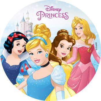 Photo comestible Princesses Disney sans sucre