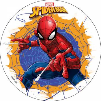 Photo comestible Spiderman sans sucre