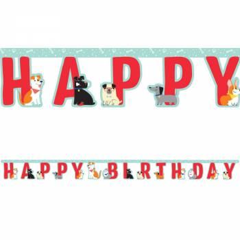 Guirlande Happy Birthday Party Dog