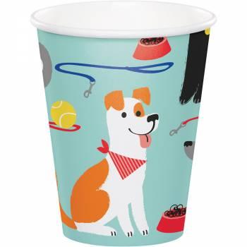 8 gobelets Party Dog