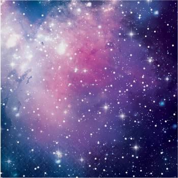 16 serviettes galaxy