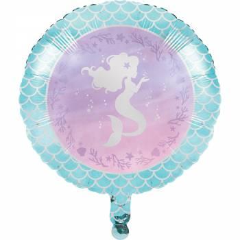 Ballon Hellium sirène shine