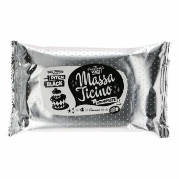 Pâte à sucre Massa Ticino Noir absolu 250g