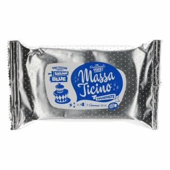 Pain de pâte à sucre Massa Ticino Bleu 250 grs