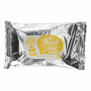 Pain de pâte à sucre Massa Ticino Jaune 250 grs