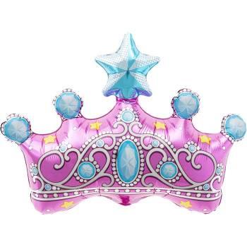 Ballon hélium couronne princesse