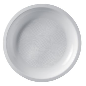 10 Assiettes ronde blanche