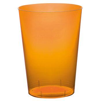 10 Gobelet PS orange 20cl