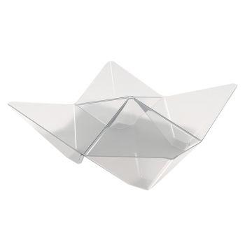 25 verrine origami transparente