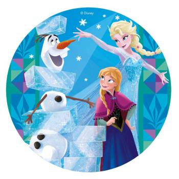 Photo comestible La Reine des Neiges 20 cm