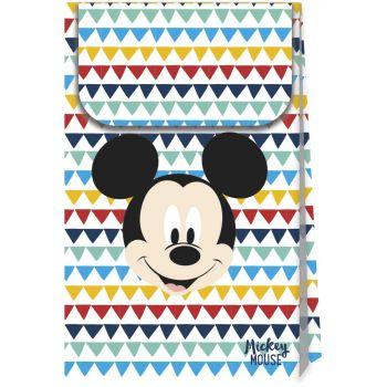 6 Pochettes cadeaux Mickey