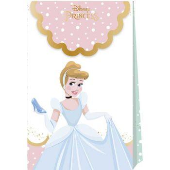 6 Pochettes cadeaux Princesses Disney